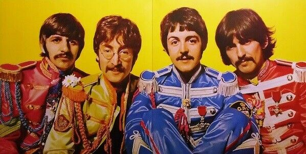 The Beatles Sgt Pepper S Lonely Hearts Club Band Vinyl Lp
